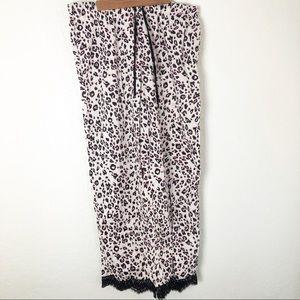 Victoria's Secret lounge pajama pant cheetah print